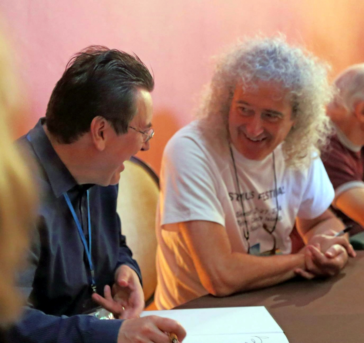 David Eicher & Brian May