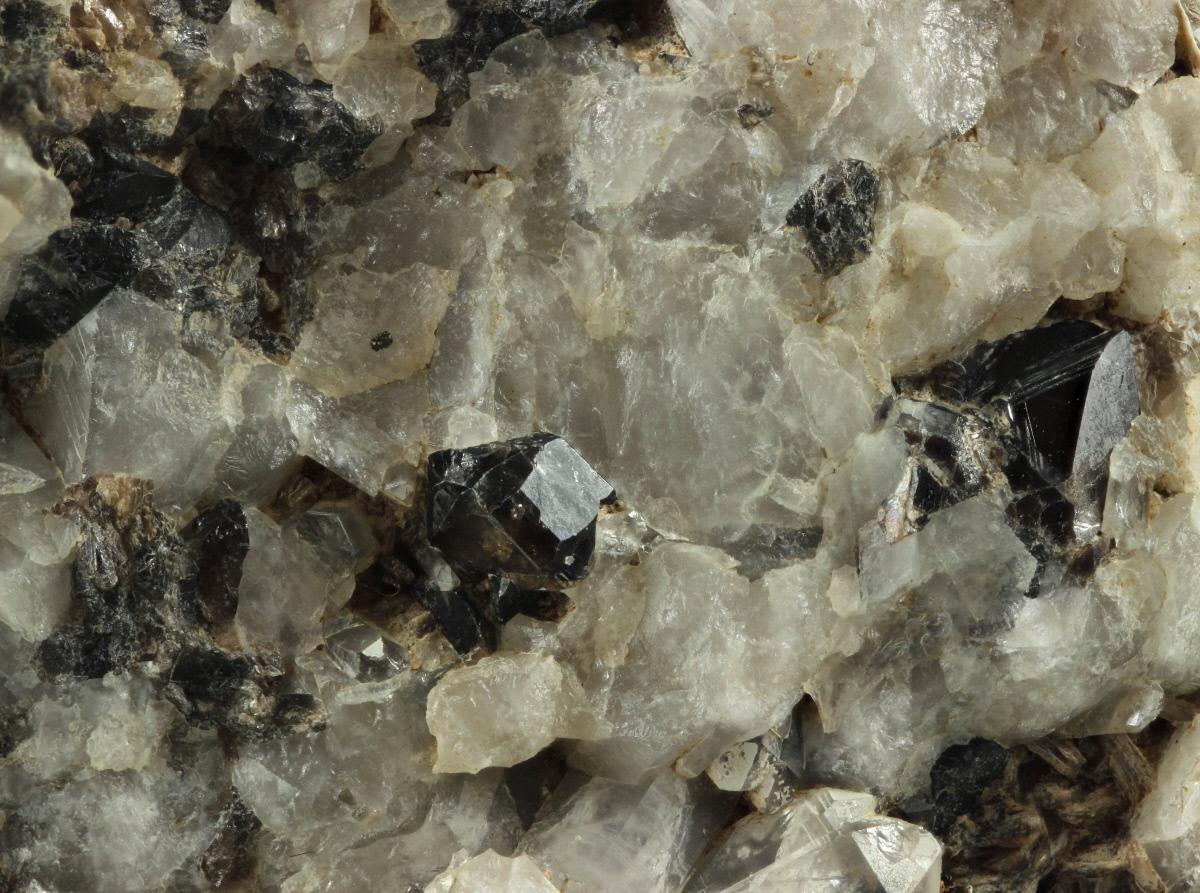 Cassiterite & Topaz