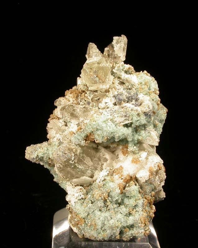 Quartz & Fluorite