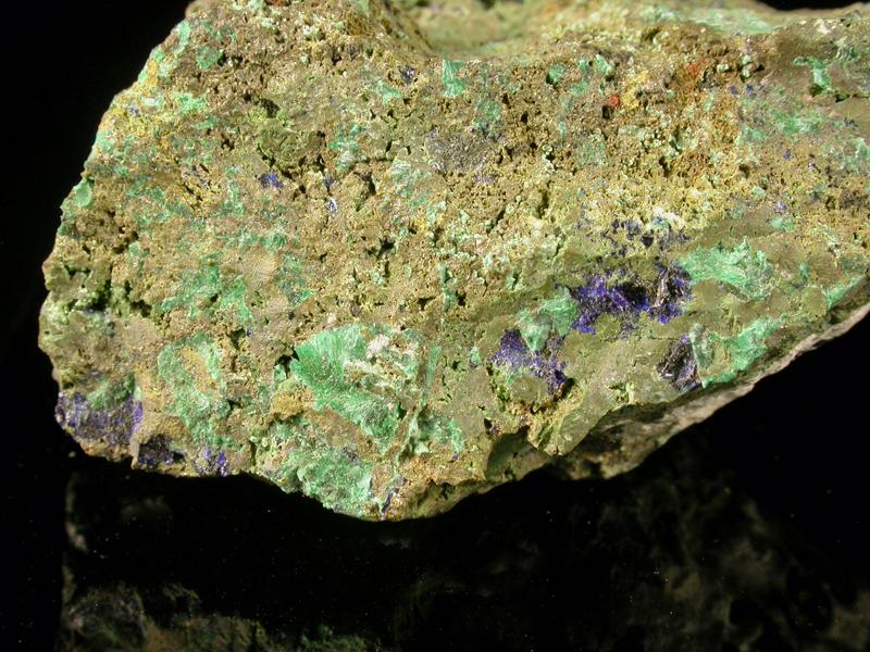 Duftite Azurite & Malachite