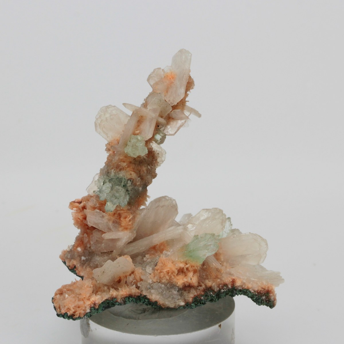 Apophyllite & Stilbite On Heulandite