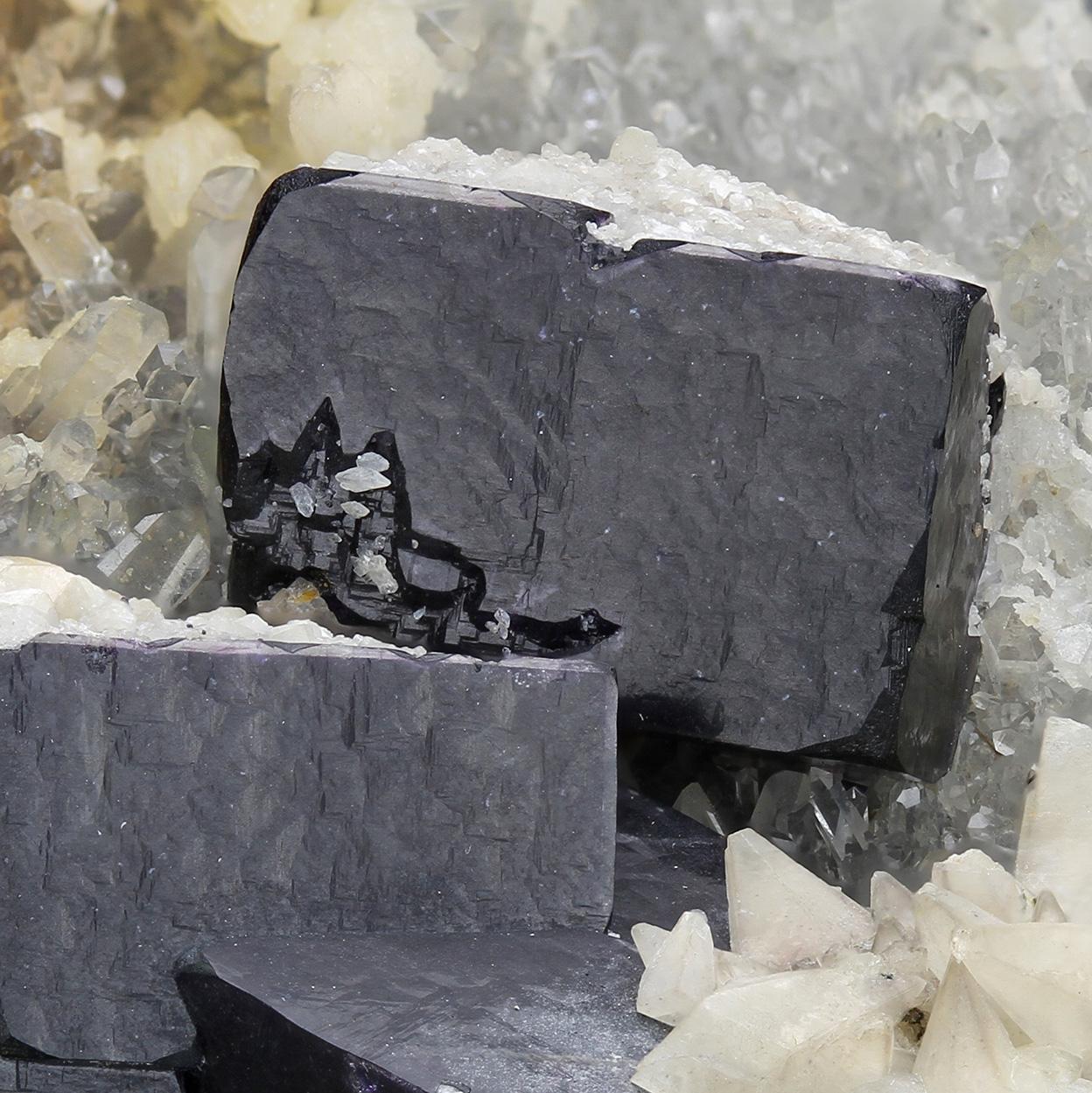Fluorite Quartz & Calcite