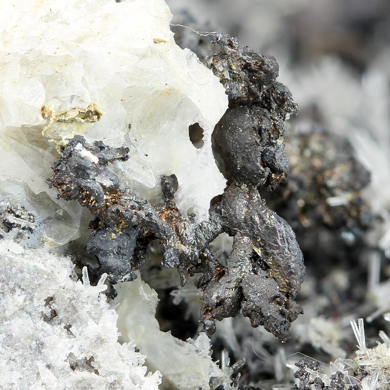 Silver Quartz & Erythrite