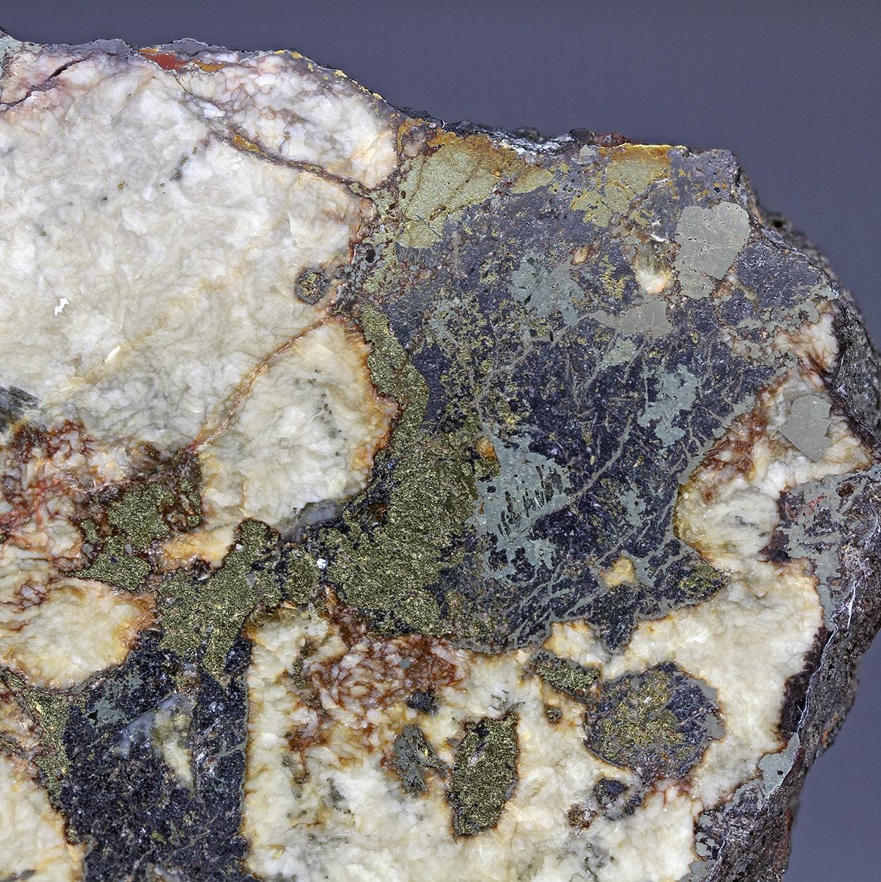Siderite Chalcopyrite Sphalerite Pyrite