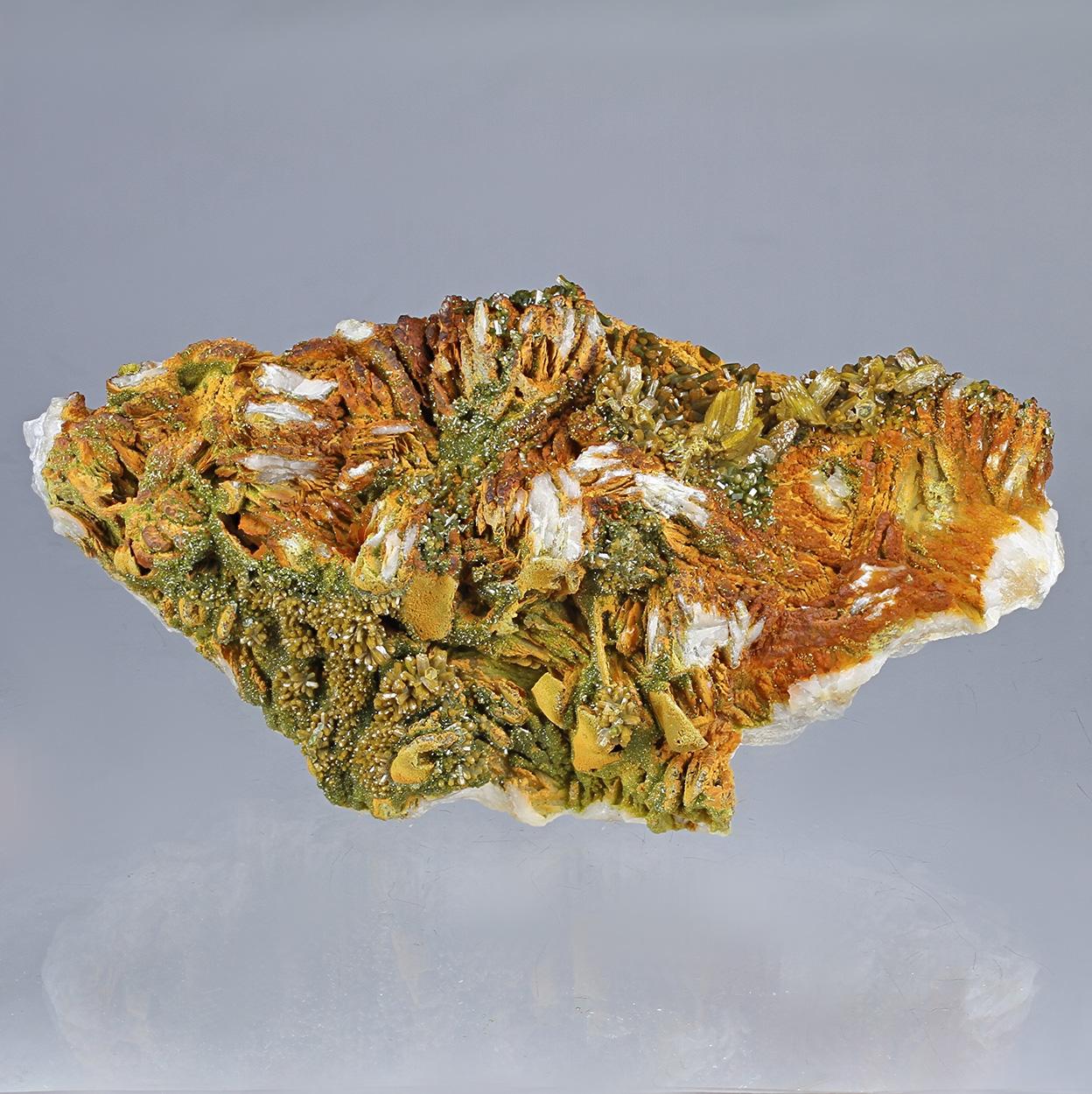 Pyromorphite & Baryte