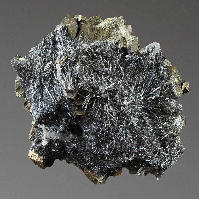 Owyheeite & Pyrite