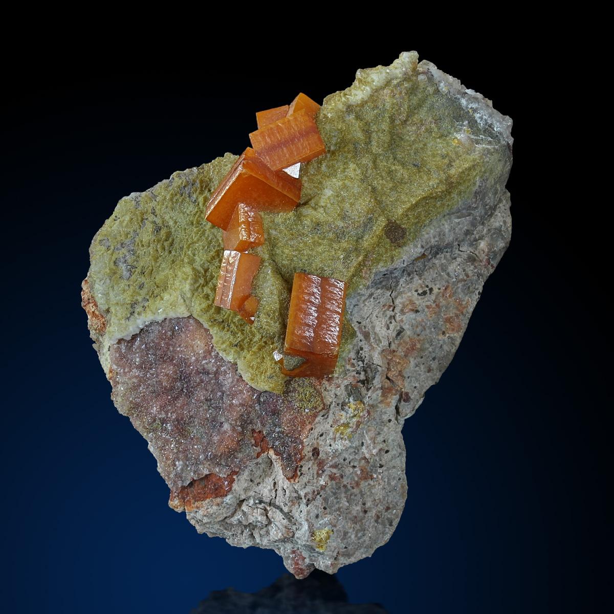 Wulfenite & Pyromorphite