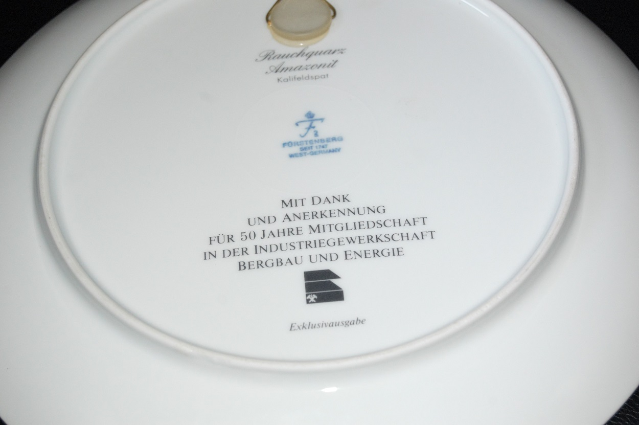 Honor Plate