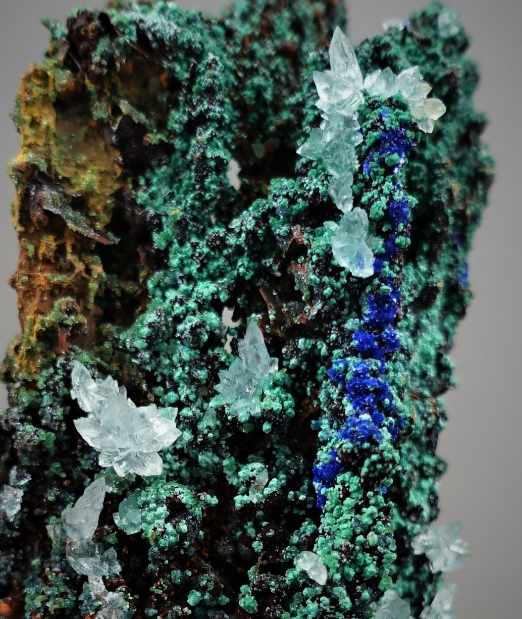 Azurite Malachite & Aragonite
