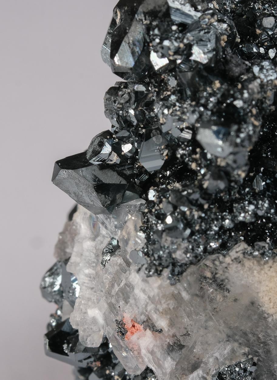 Hematite Andradite & Calcite