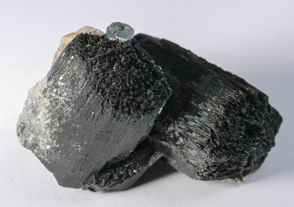 Schorl Quartz & Aquamarine