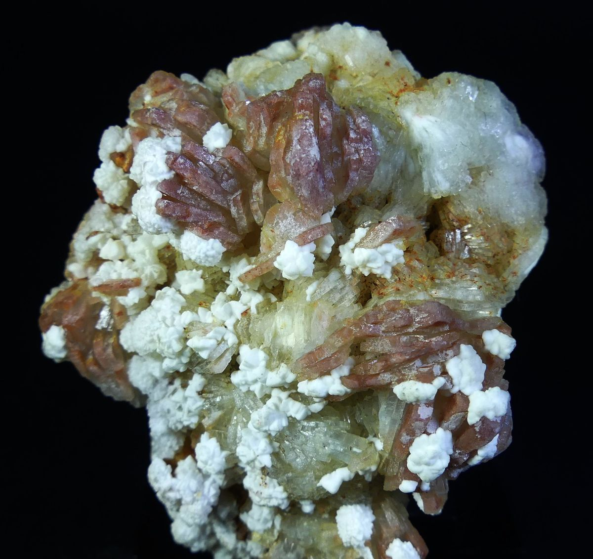 Dolomite On Baryte