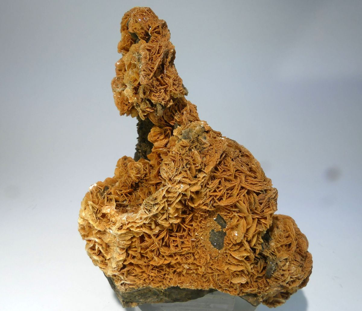 Baryte With Realgar Inclusions