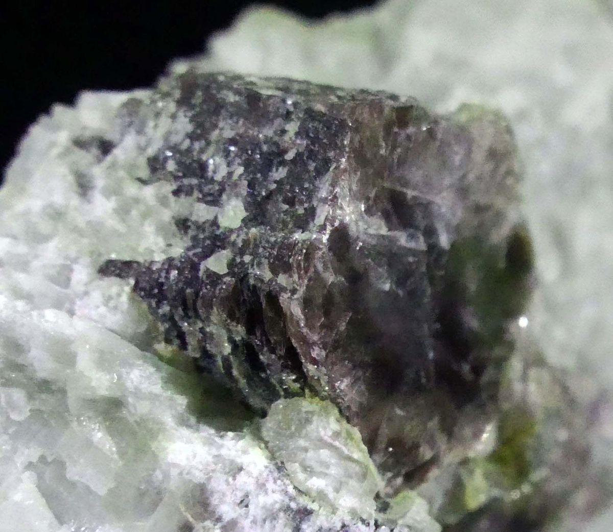 Lepidolite With Rubellite On Cleavelandite