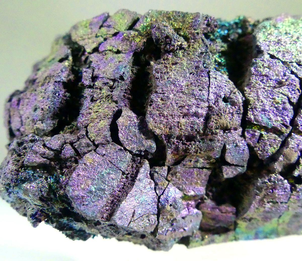 Hematite On Lava
