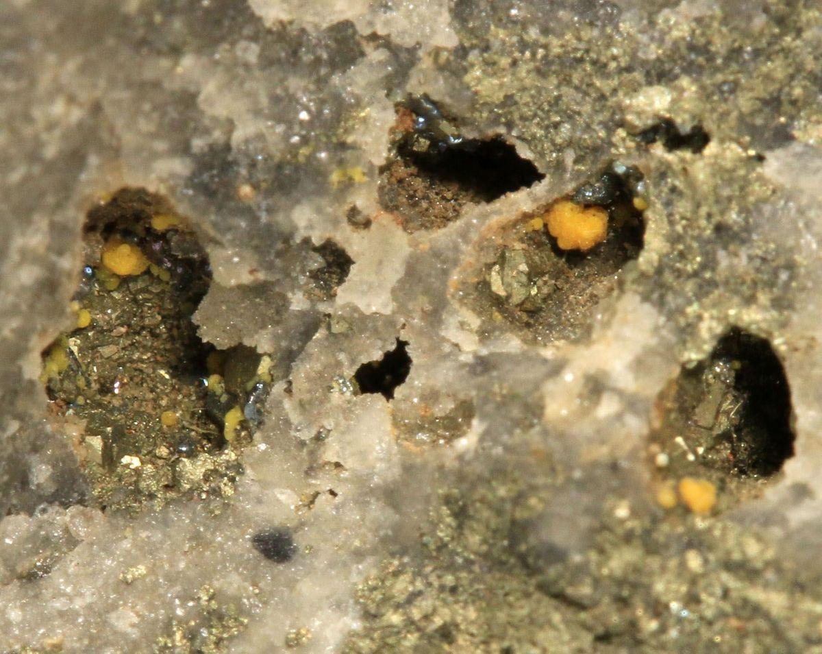 Tellurite & Native Tellurium
