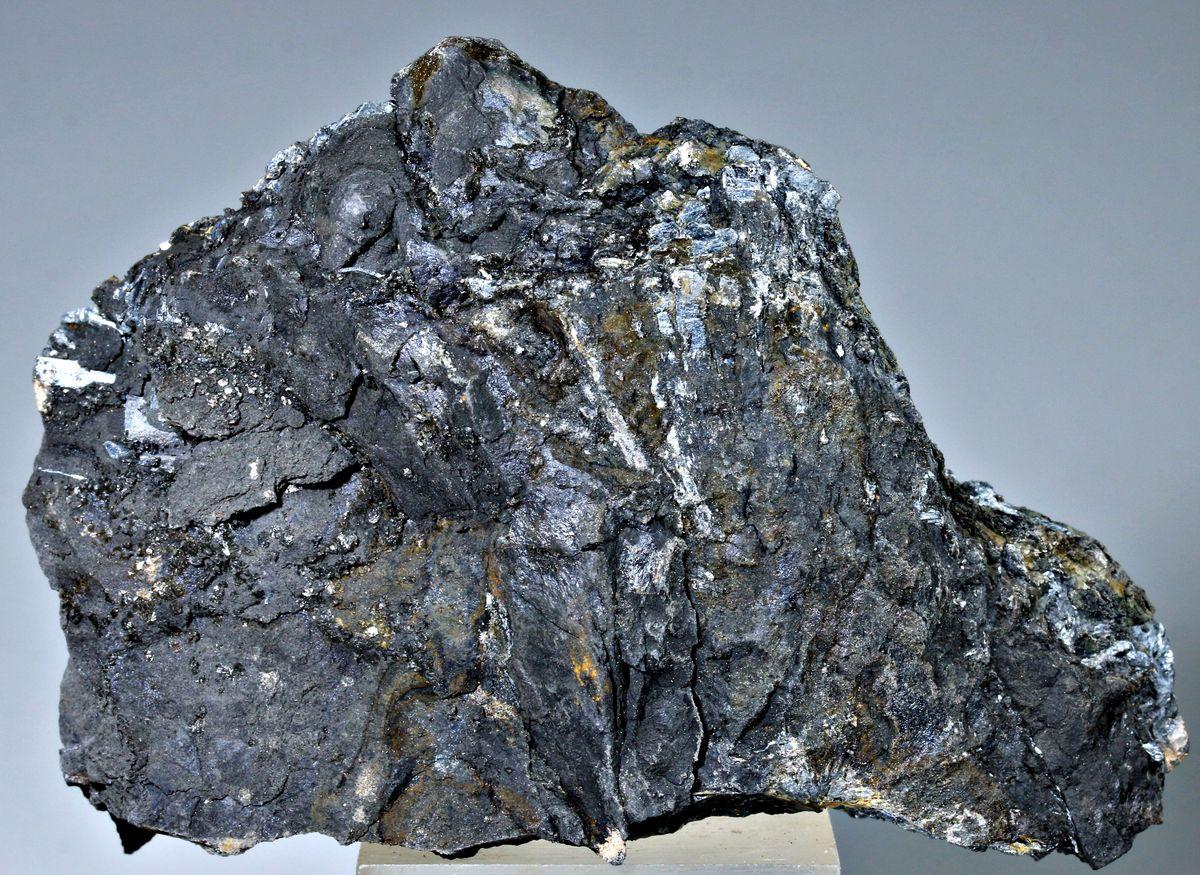 Stibnite With Plagionite & Hydroniumjarosite