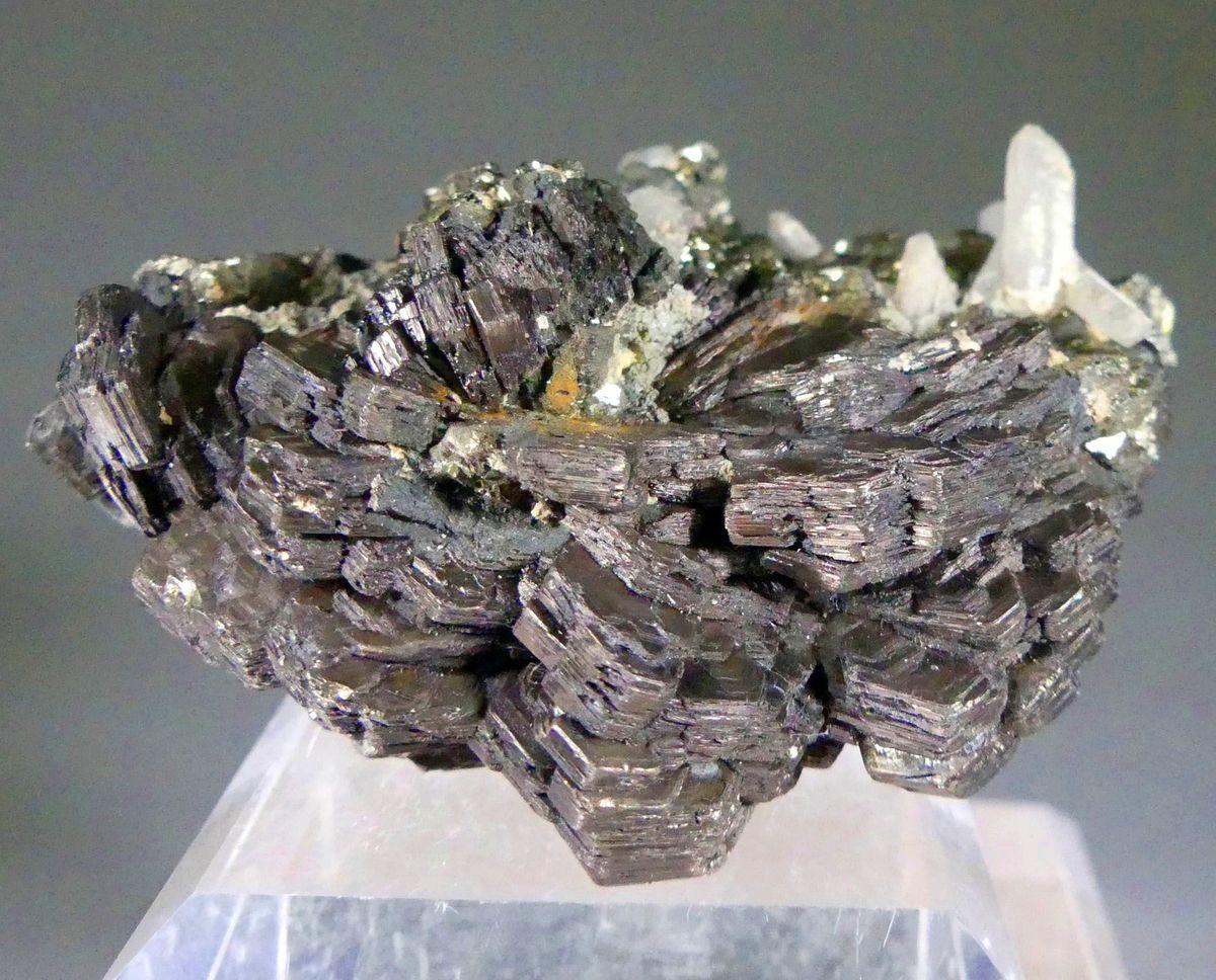 Pyrrhotite Pyrite & Quartz