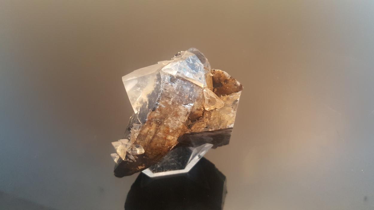 Calcite On Siderite