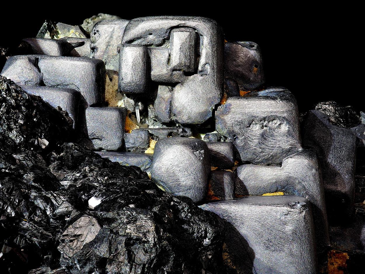 Galena On Sphalerite