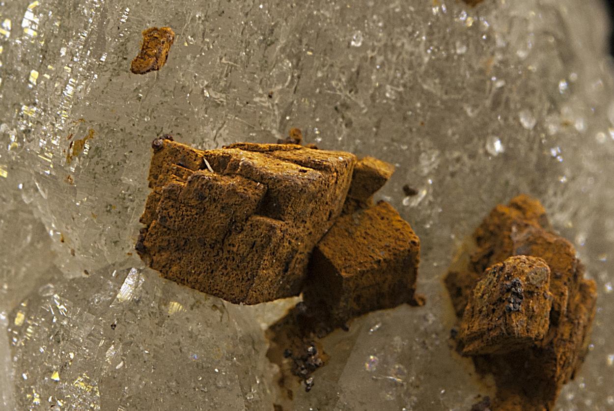 Quartz With Siderite