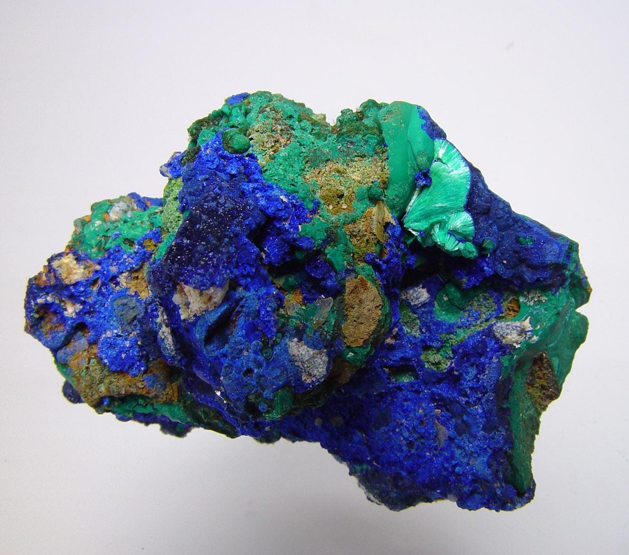 Tyrolite & Azurite