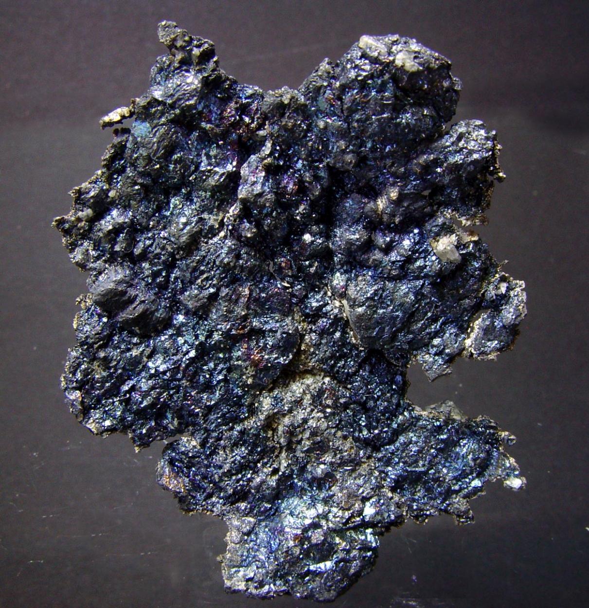 Native Silver & Bornite