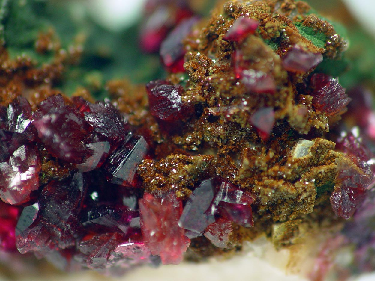 Cobaltaustinite Roselite & Cobaltlotharmeyerite