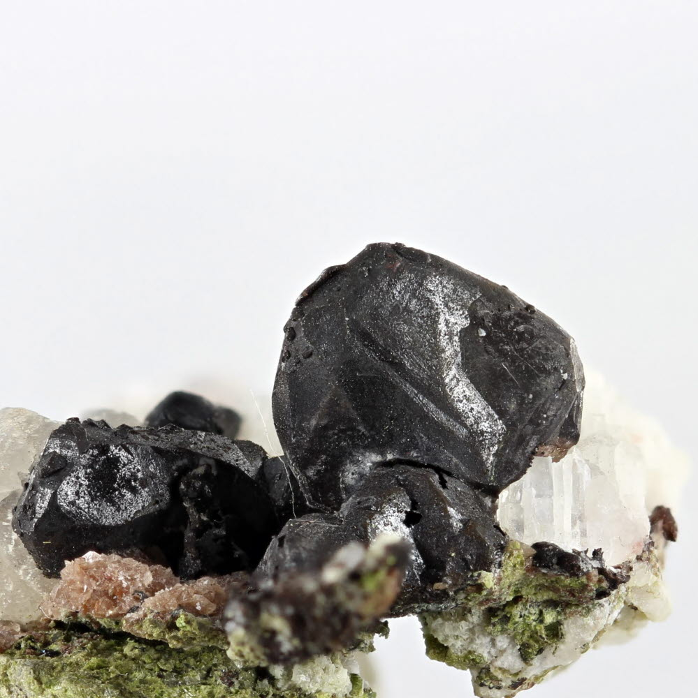 Chalcocite With Native Silver