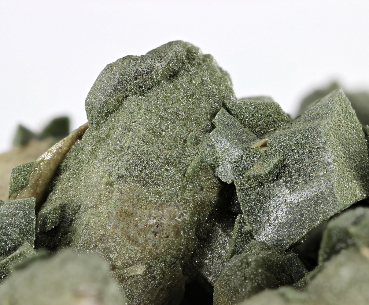 Titanite With Quartz Adularia & Chlorite