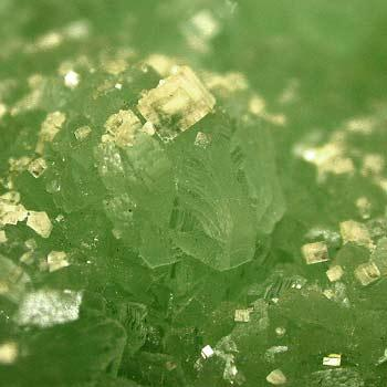 Prehnite With Apophyllite