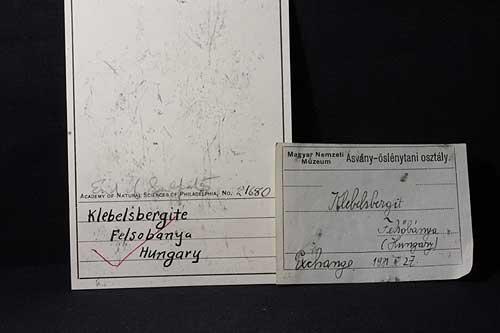 Klebelsbergite