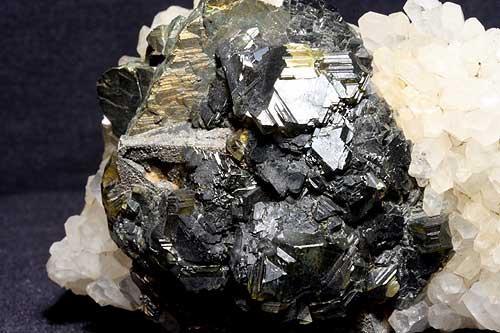Sphalerite Var Cleiophane & Chalcopyrite