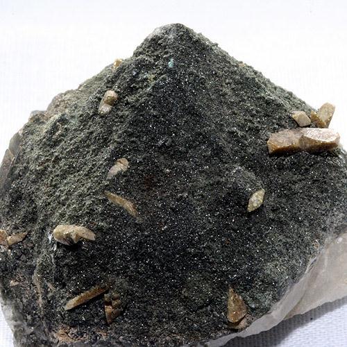 Titanite On Smoky Quartz