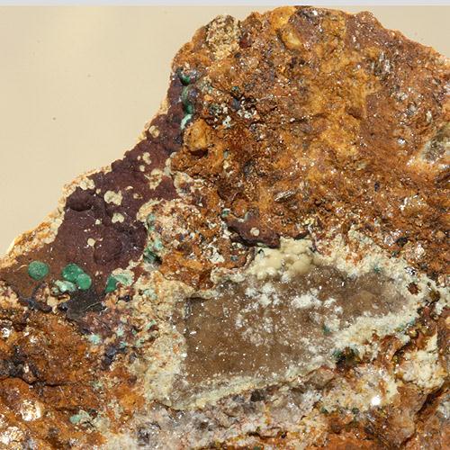 Leucophosphite Cyrilovite & Dufrénite