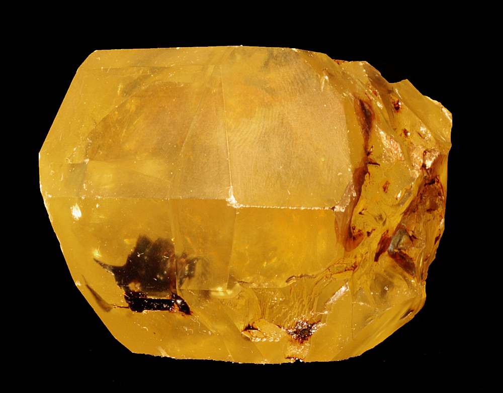 Native Sulphur With Hydrocarbon