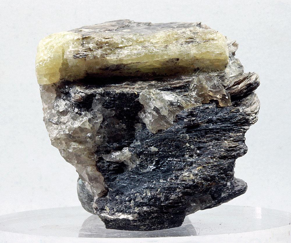 Beryl On Biotite Mica