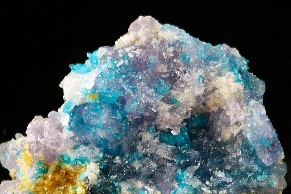 Magnesiocopiapite Coquimbite & Chalcanthite
