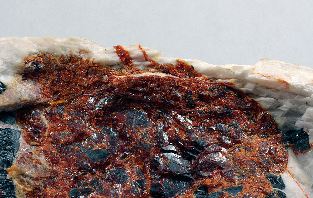 Zincite Willemite Calcite & Franklinite