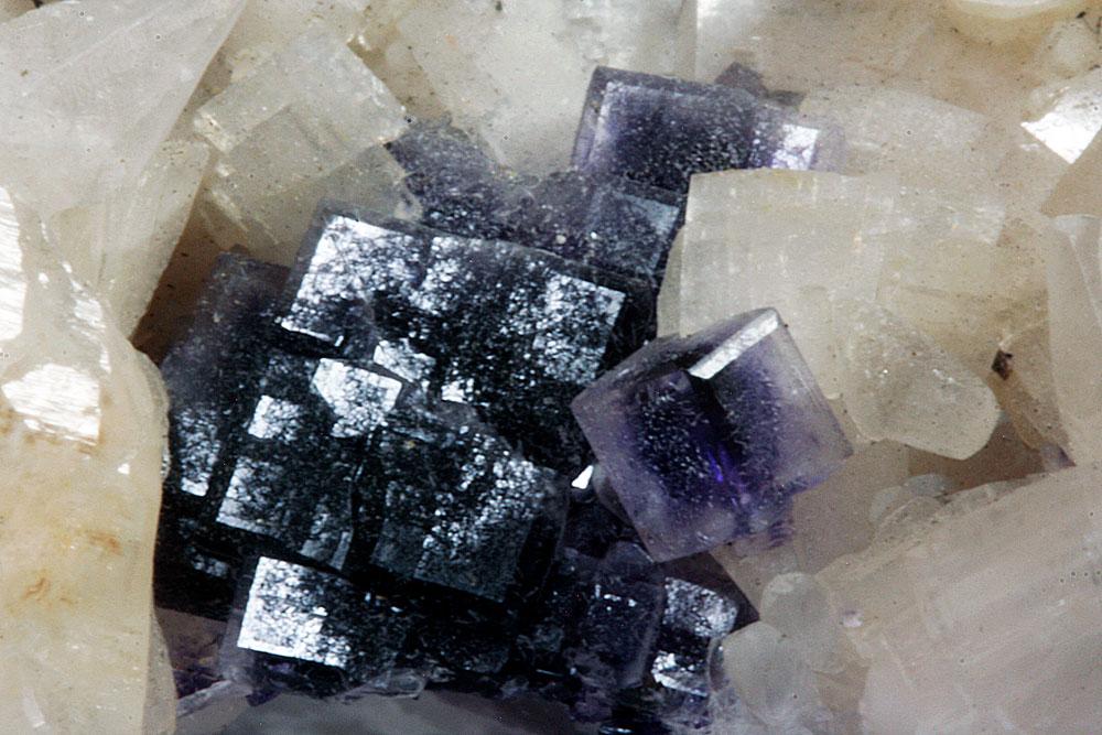 Fluorite On Dolomite