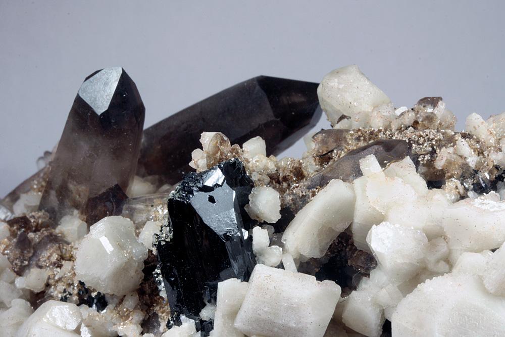 Smoky Quartz Microcline Aegirine & Pyrochlore Group
