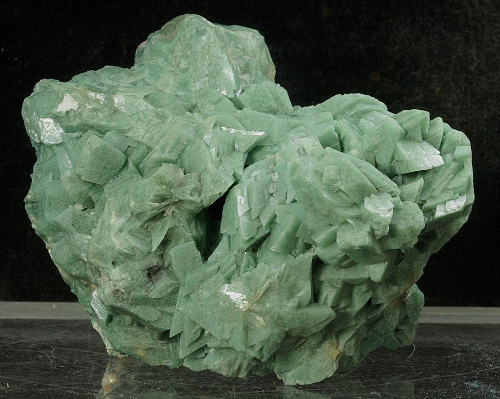 Heulandite-Ca With Celadonite
