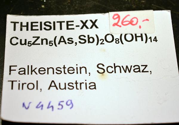 Theisite & Azurite