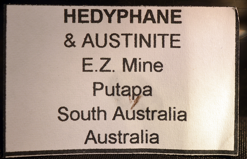 Hedyphane & Austinite