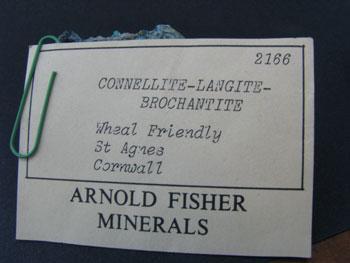Connellite Langite & Brochantite
