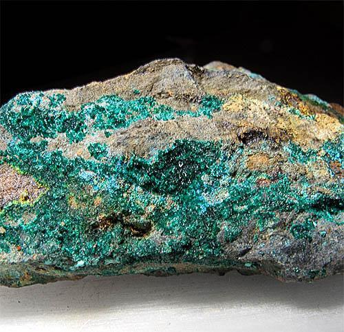 Brochantite Connellite & Zippeite