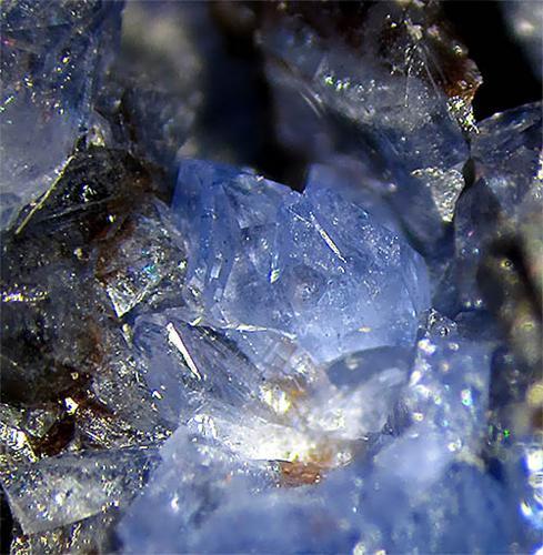 Scorodite On Arsenopyrite