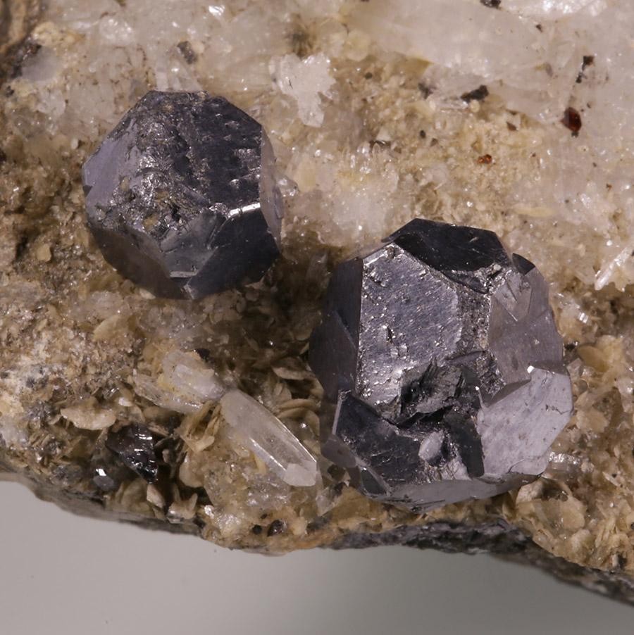 Galena Quartz Sphalerite & Siderite