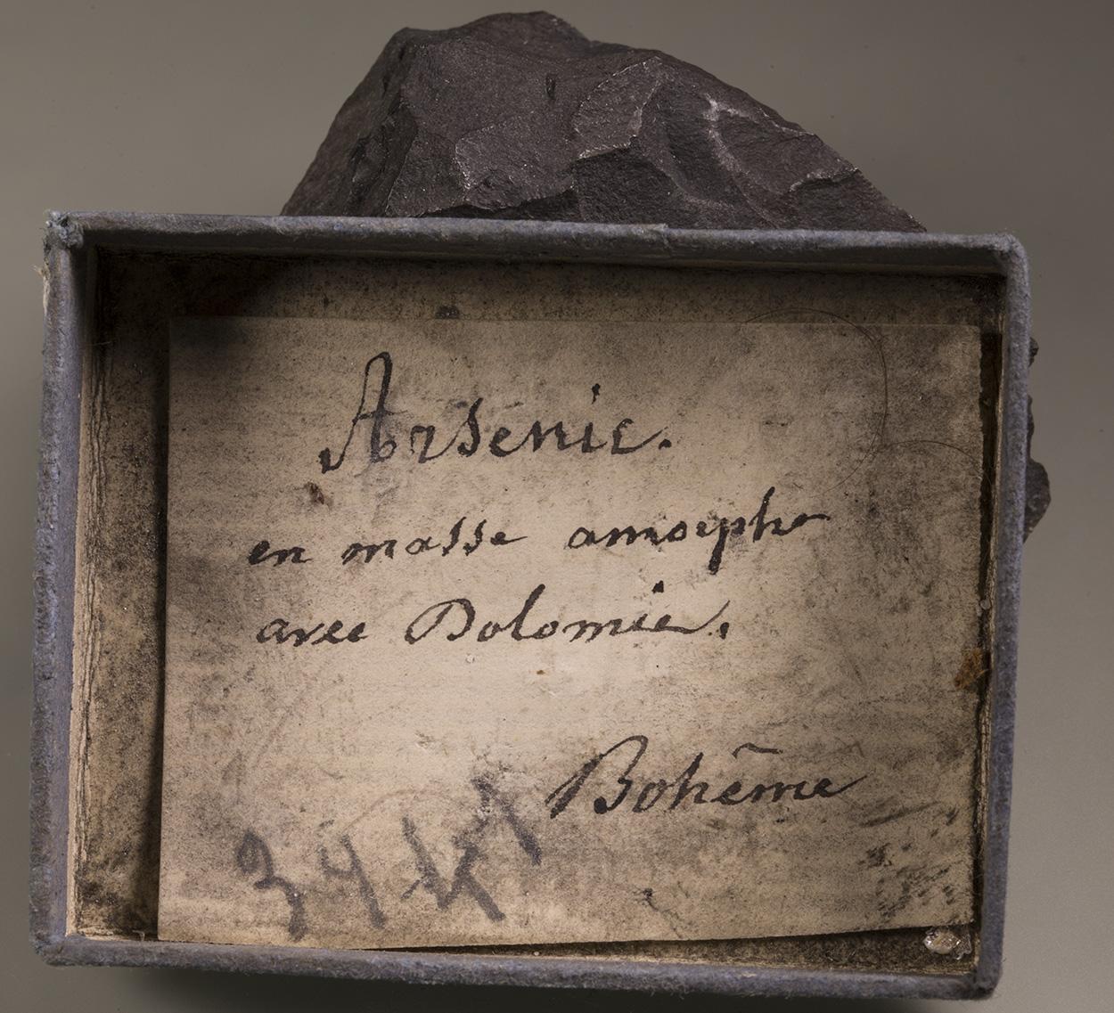 Arsenic & Dolomite