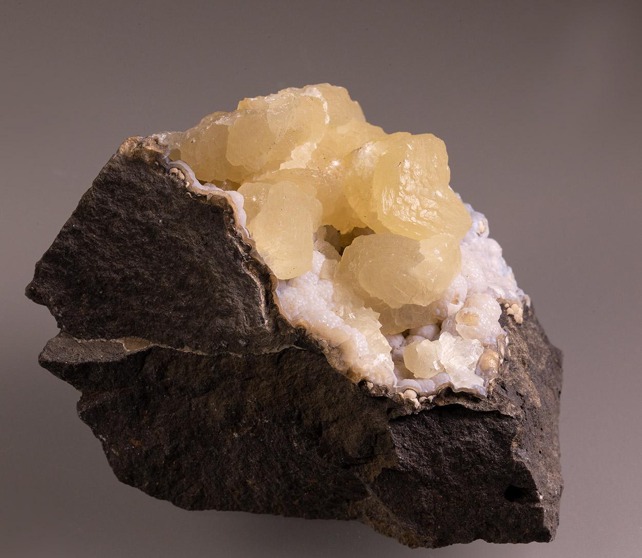 Calcite & Chalcedony